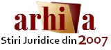 Arhiva stiri juridice